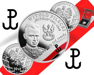 10 zł Wyklęci żołnierze niezłomni – Witold Pilecki